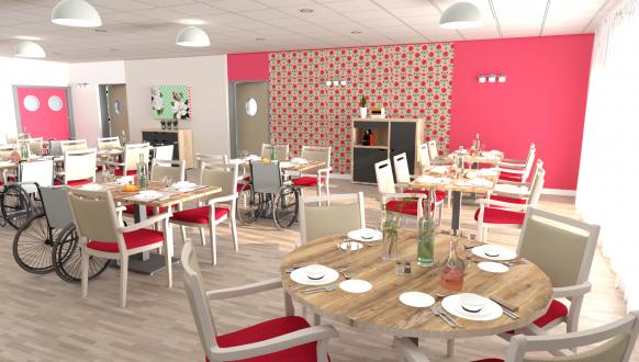 Salle à manger 3D Stockholm