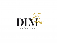 Logo DLM Créations 25 ans